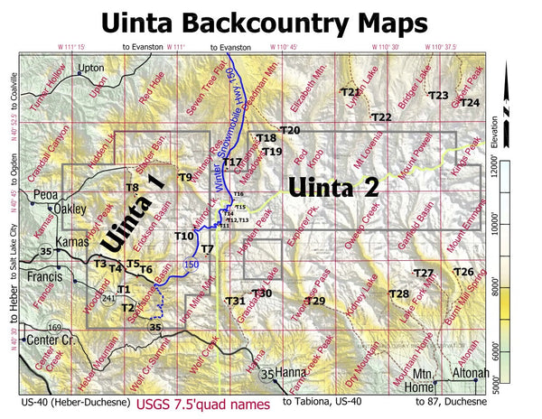 Uinta 2 Backcountry