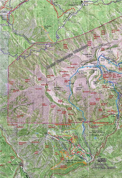 Wasatch Touring Map 3 - Southern Wasatch Backcountry