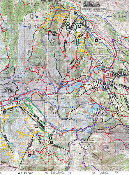 Wasatch Touring Map 1