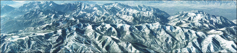 Wasatch Winter Panorama