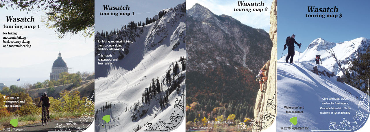 Utah Ski Touring and Recreation Maps