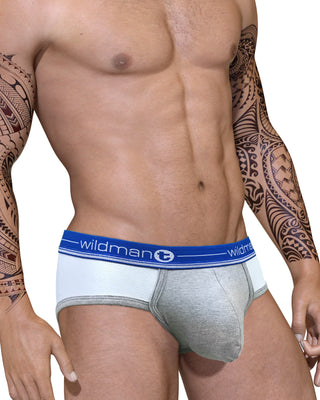 Duo Big Boy Pouch Brief Blue - Big Penis Underwear, WildmanT - WildmanT
