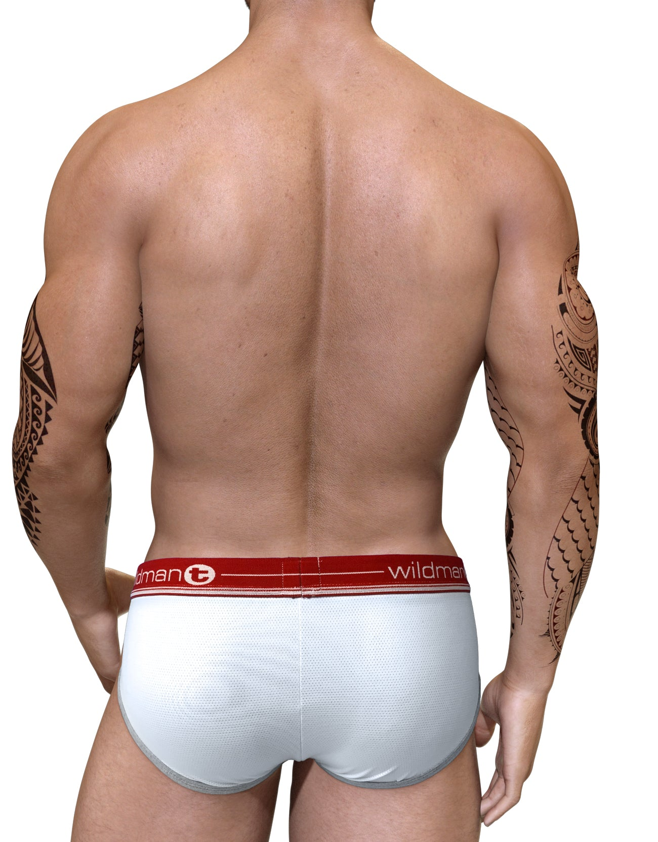 Duo Big Boy Pouch Brief Red - Big Penis Underwear, WildmanT - WildmanT
