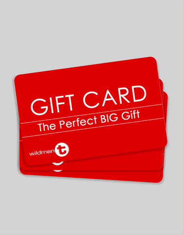 WildmanT Gift Card.