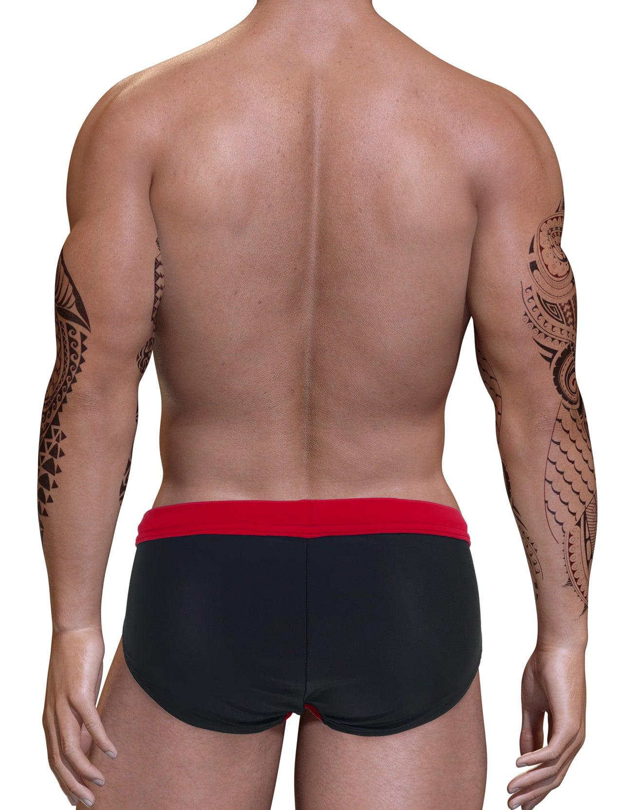 Big Boy Pouch Swim Bikini Red - Big Penis Underwear, WildmanT - WildmanT