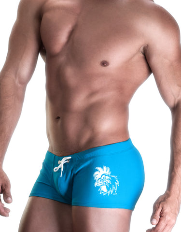 COCK SQUARE CUT SWIM BLUE