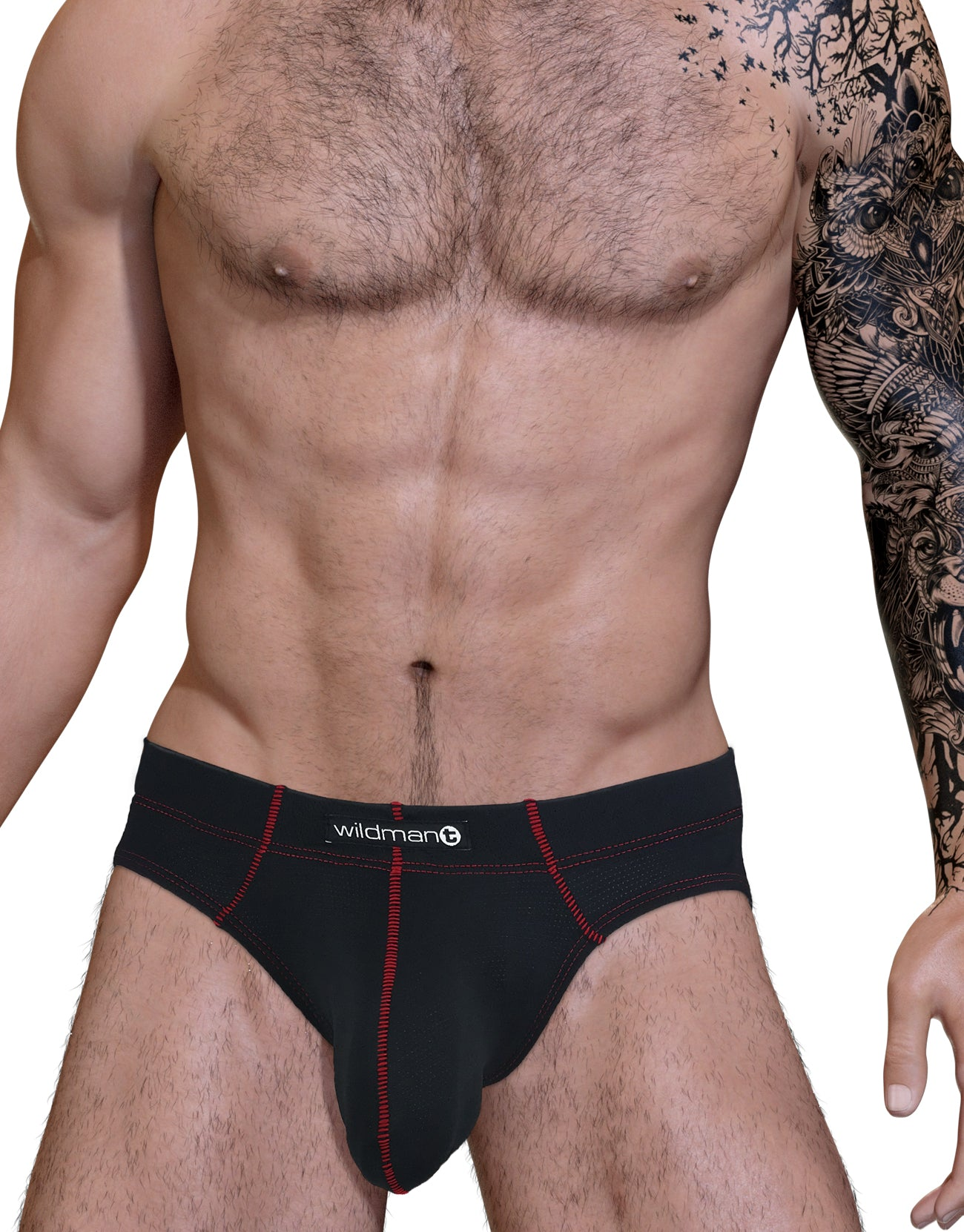 Stitch Big Boy Pouch Brief - Red