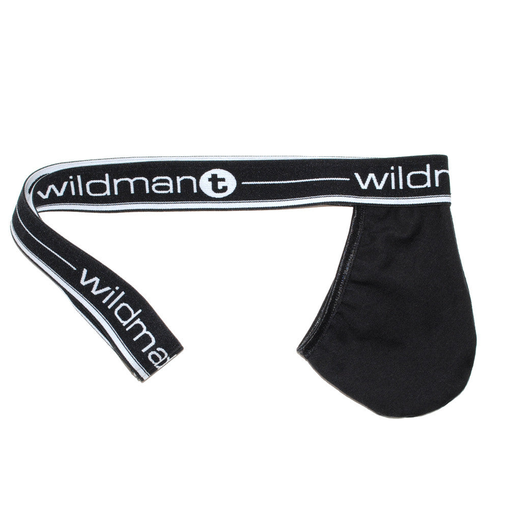 WildmanT Big Boy Pouch Strapless Jock Black - Big Penis Underwear, WildmanT - WildmanT