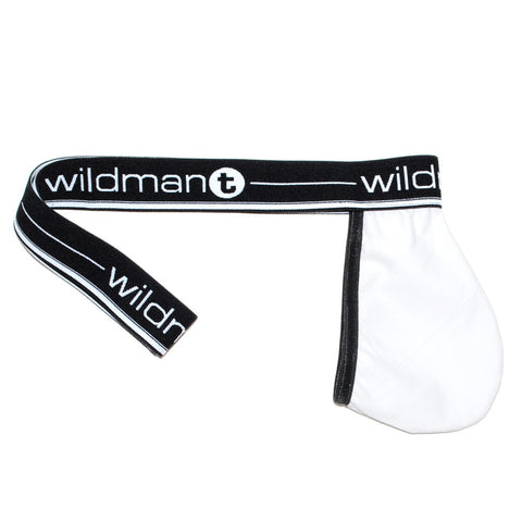 WildmanT Big Boy Pouch Strapless Jock White - Big Penis Underwear, WildmanT - WildmanT