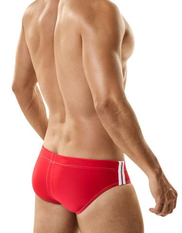 WildmanT: Sport Bikini Swim w/Ball Lifter® Cock-Ring Red