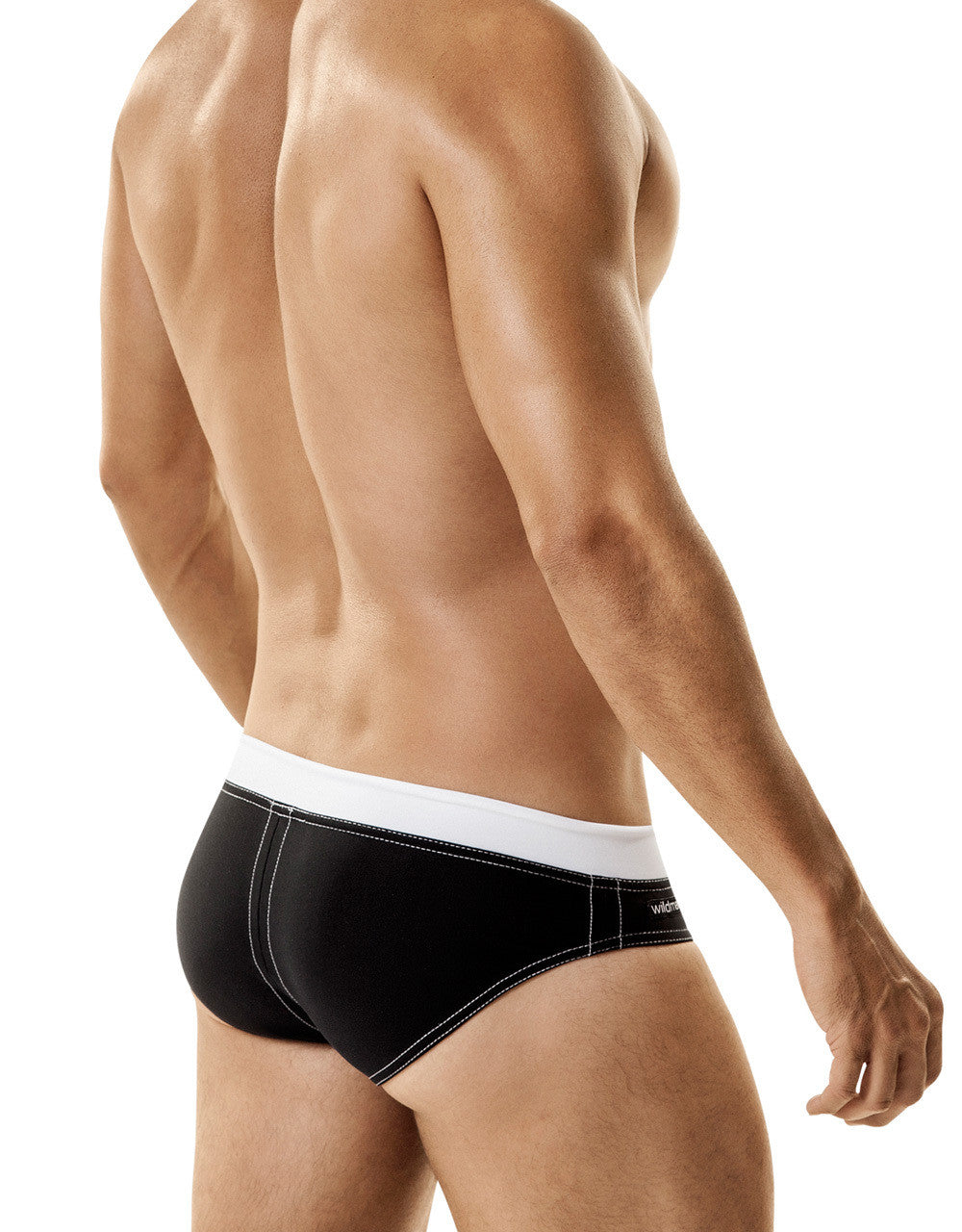 WildmanT Banned Swim w/Ball Lifter® Cock-Ring Black - Big Penis Underwear, WildmanT - WildmanT