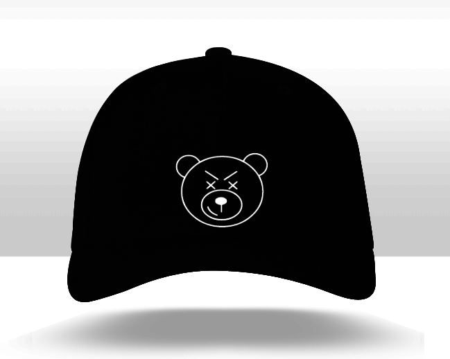 Tweaking Bear Structured Twill Cap