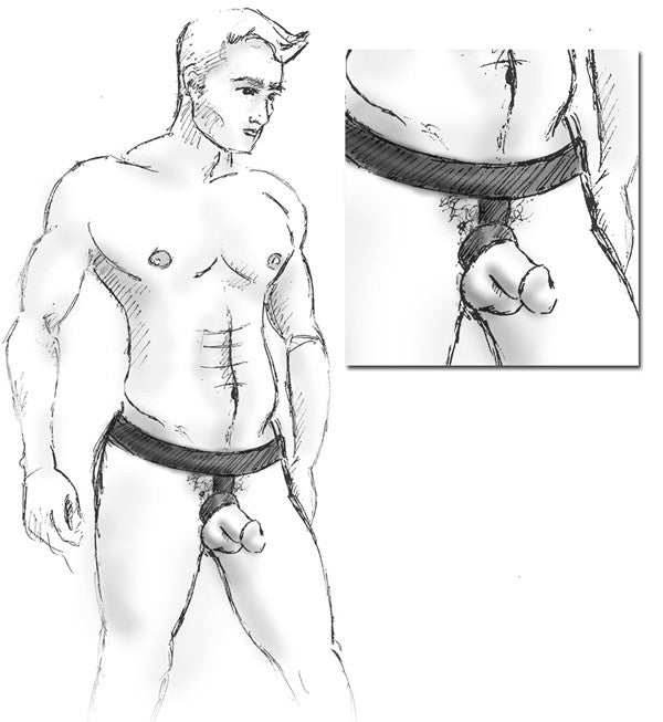 The Ball Lifter® Protruder BLUE - Big Penis Underwear, Wildman T - WildmanT