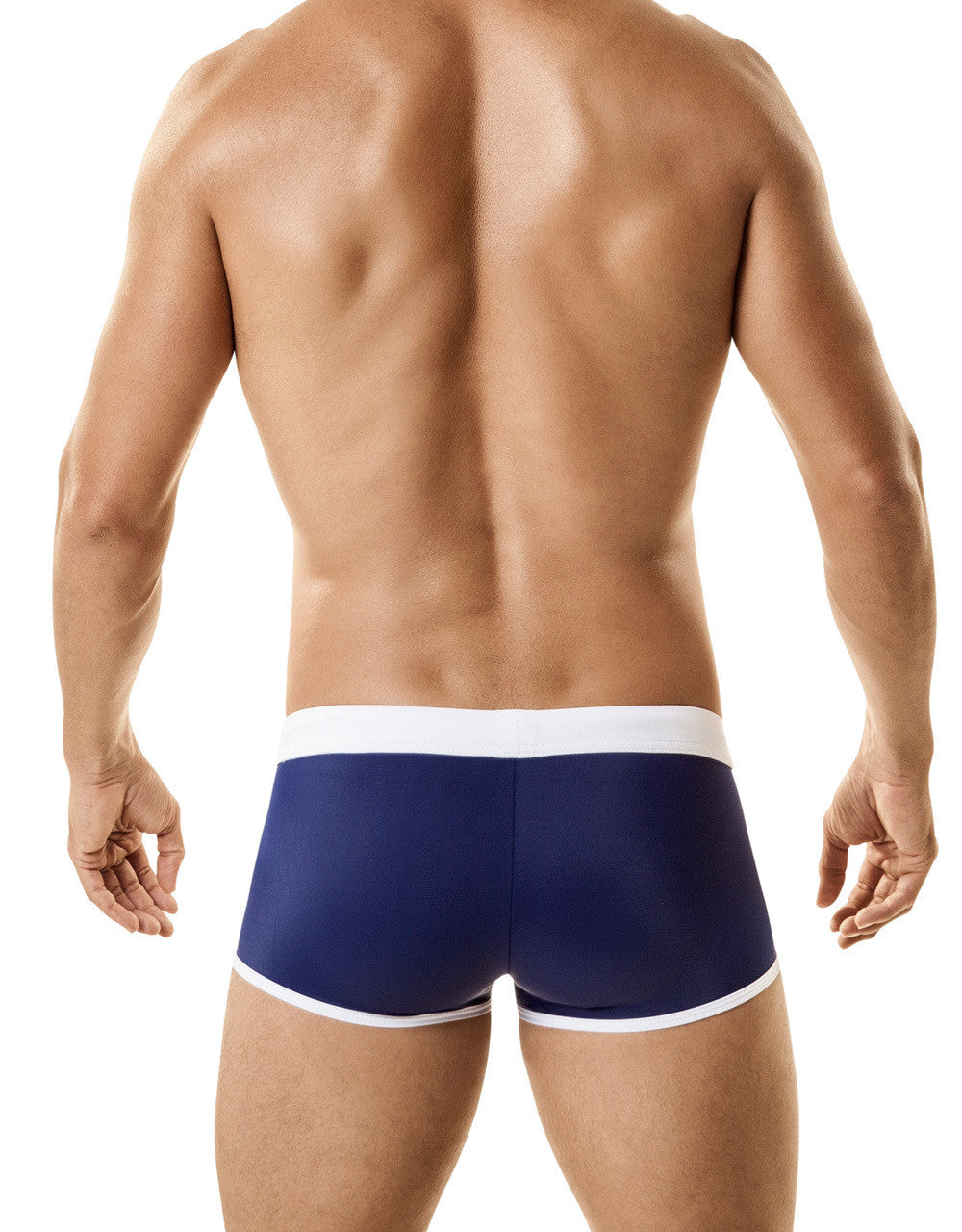 WildmanT: Jersey Swim w/Cock Ring Blue