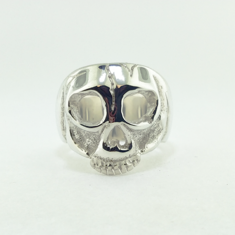 Hollow Man Skull Ring - 736 Masonic