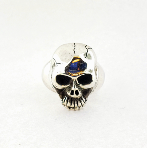 Repentless Skull Ring - 736 Masonic