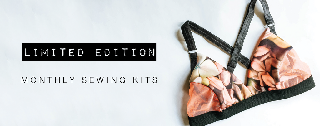 Limited Edition Lingerie Sewing Kits