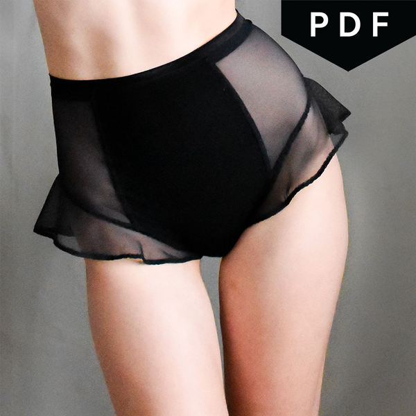 Altitude Thong - Downloadable PDF Sewing Pattern