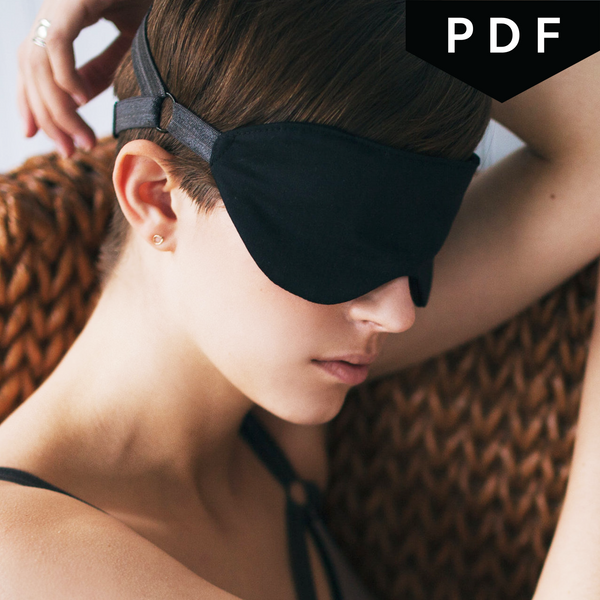 Dyadic Eyemask - Downloadable PDF Sewing Pattern