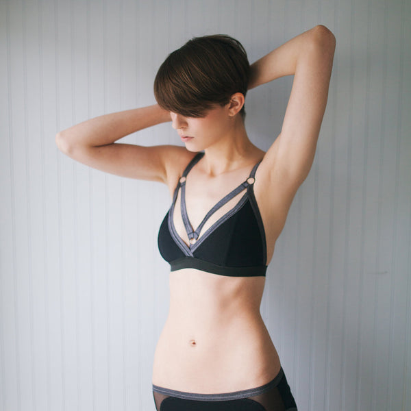 Cevian Swim Top - Black