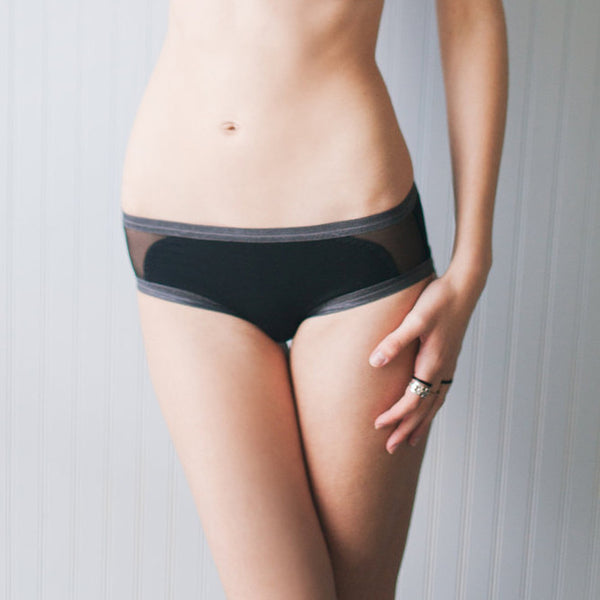 Cassini Swim Bottom – Black