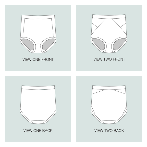 Median Knickers - Downloadable PDF Sewing Pattern