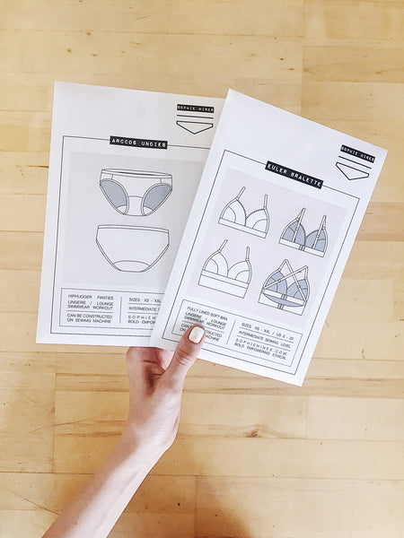 Arccos Undies - Paper Sewing Pattern