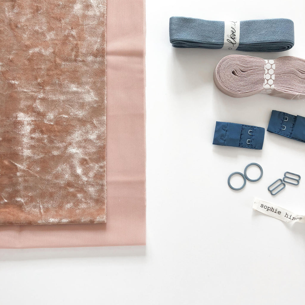 February Kit of the Month Club - Bralette + Panty Sewing Kit