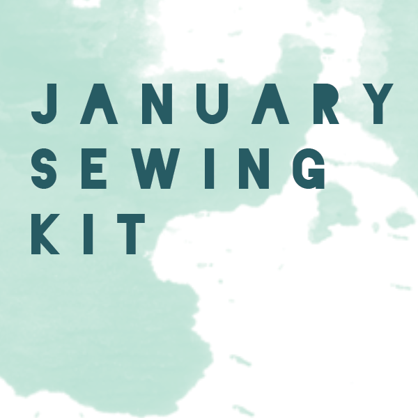 January Limited Edition - Mint - Bralette + Panty Sewing Kit