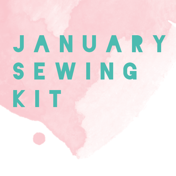 January Limited Edition - Pink - Bralette + Panty Sewing Kit