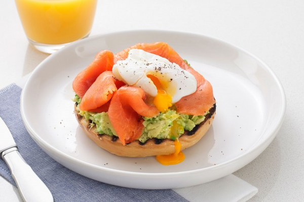 The perfect breakfast for salmon lovers