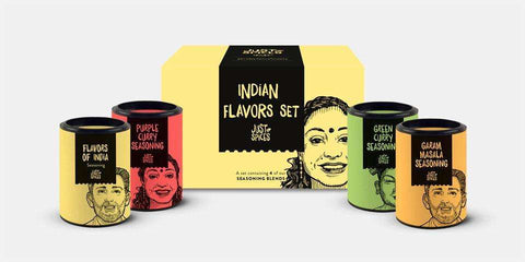 Indian Flavors Set | JUST SPICES