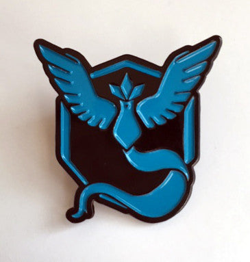 Pokemon Blue Mystic Enamel Pin - Pindependent Pinbacks
