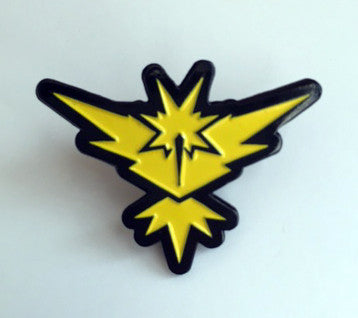 Pokemon Yellow Instinct Enamel Pin - Pindependent Pinbacks