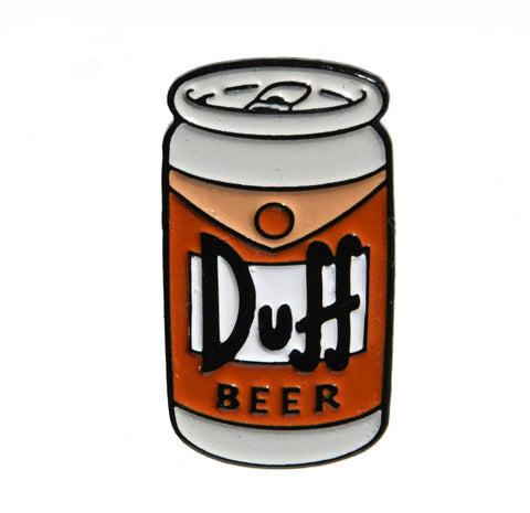 Duff Beer Simpsons Enamel Pin - Pindependent Pinbacks