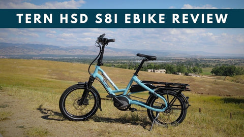 Tern HSD S8i Electric Bike Review