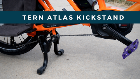 Meet the Tern Atlas Kickstand for the Tern GSD Cargo Bike