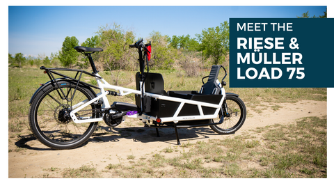 Meet the Riese & Muller Load 75 Electric Cargo Bike