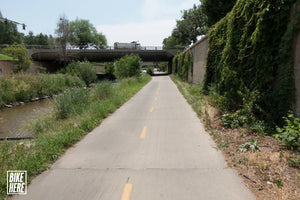 Cherry Creek Trail Bike Route and Details