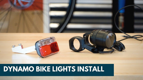 Installing Dynamo Bike Lights - Every City Bike Needs These!