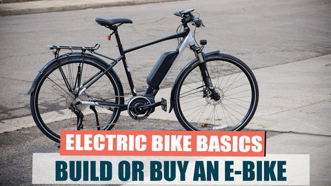 Buying an Electric Bike vs Adding an Electric Bike Kit