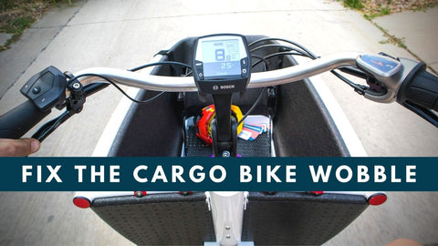 Fixing the Urban Arrow and Cargo Bike Speed Wobble