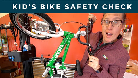 Kid's Bike Safety Check Over