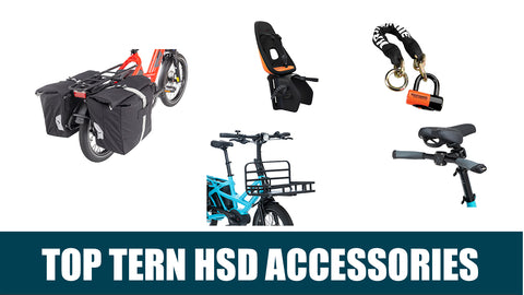 Tern HSD: Recommended Accessories for Your New Electric Bike