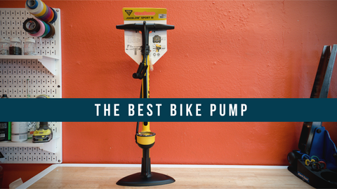 The Best Bike Floor Pump: Topeak JoeBlow Sport Bike Pump