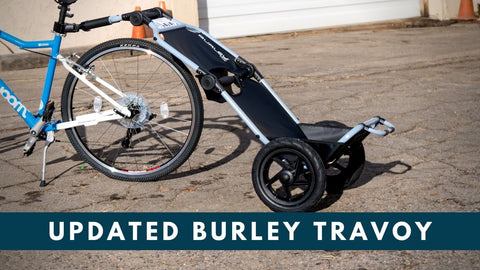 Burley Travoy Bike Cargo Trailer - updated for 2020!