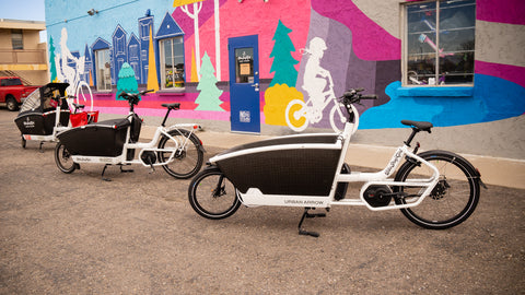 The Urban Arrow Family Cargo Bike Models Explained