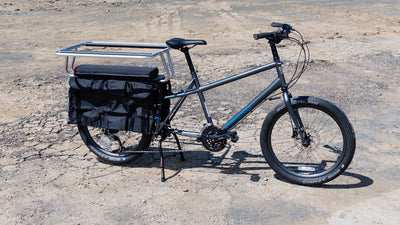 "Xtracycle Stoker Wheeled Longtail Cargo Bike with 24"" Wheels"