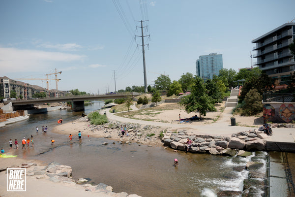 Cherry Creek Trail at Confluence Park