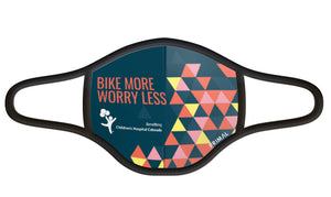 Bike More Worry Less Face Mask
